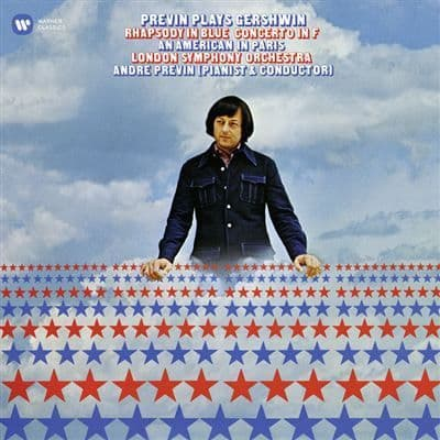 Andre Previn - The London Symphony Orchestra<br>Previn Plays Gershwin<br>LP, RE